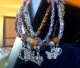 Horseshoe, Butterflies or Heart Charm Arm Candy