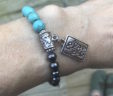 Do What You Love Turquoise Arm Candy